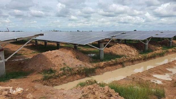 Cambodia: new solar power plant put into operation