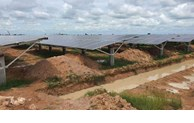 Cambodia: new solar power plant put into operation