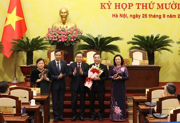 Hanoi has new Chairman
