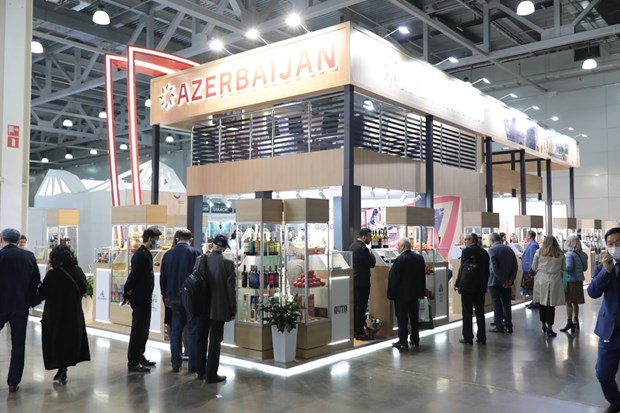 Russia importers display Vietnamese products at WorldFoor Moscow 2020