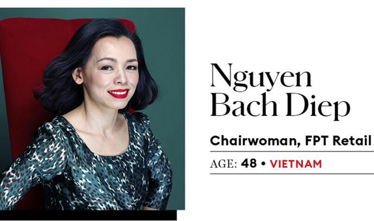 Two Vietnamese women listed top 25 Asia