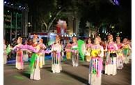 Activities at pedestrian streets around Hoan Kiem Lake
