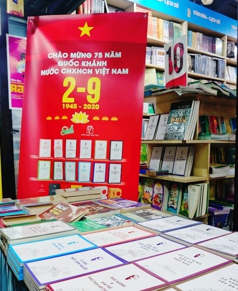 Book exhibitions in celebration of 75th anniversary of National Day