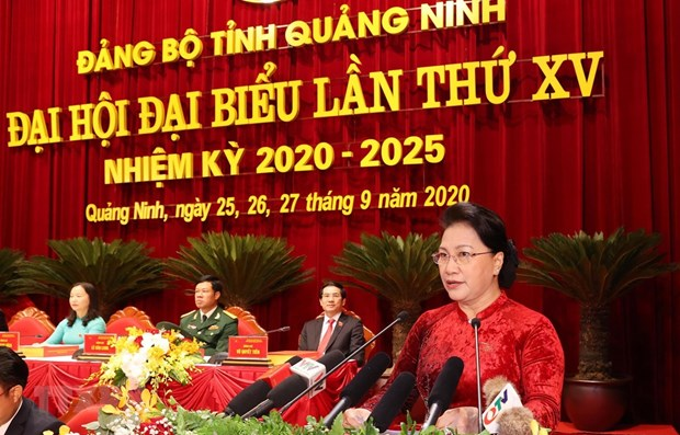 Top legislator asked Quang Ninh to make efforts to become one of Vietnam's leading localities
