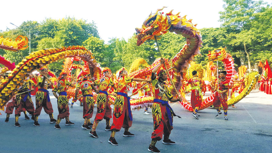 Dragon Dance Festival 2020 in Hanoi