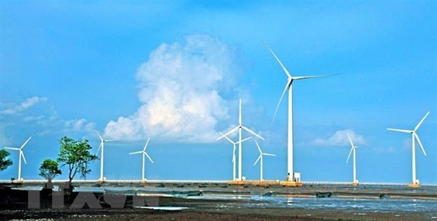 Construction begins on three wind power projects in Soc Trang
