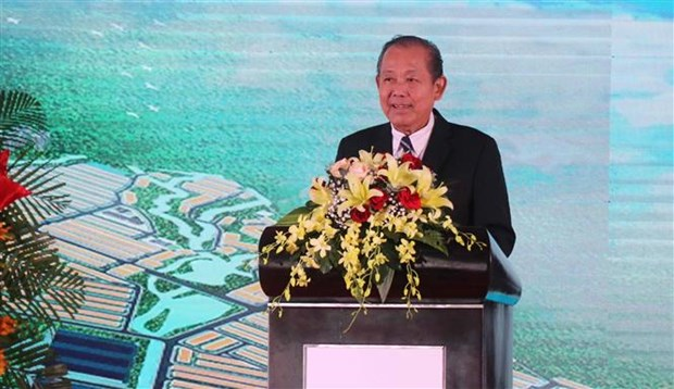Construction of 143-million-USD industrial park begins in Binh Dinh