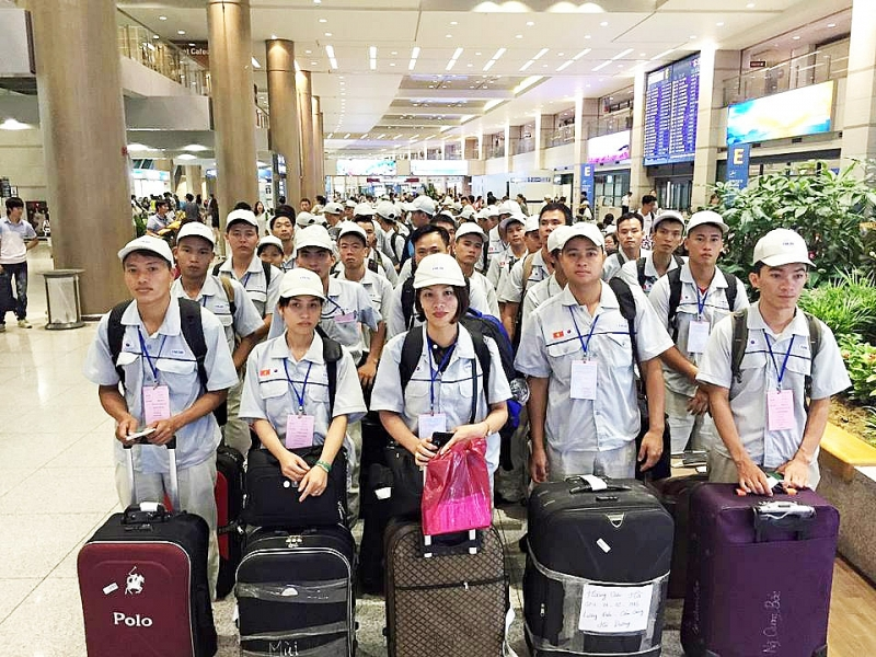Vietnamese workers in RoK allowed borrowing money while waiting to return home