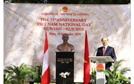 75th Vietnamese National Day marked in Austria