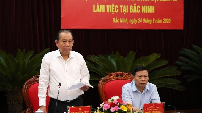 Bac Ninh urged to boost 3 breakthroughs