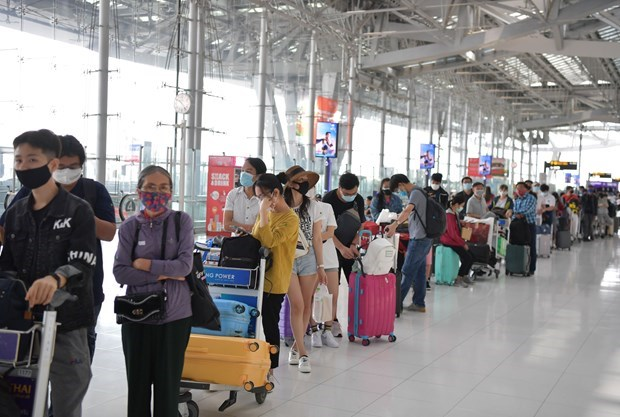 Over 340 Vietnamese citizens brought home from Thailand
