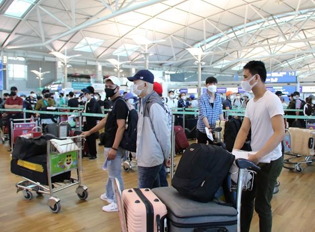 Over 640 Vietnamese repatriated from Singapore, Republic of Korea