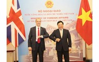 Vietnam, UK to develop strategic partnership to higher level: officials