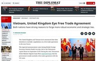 Vietnam, U.K. look to bilateral trade agreement: The Diplomat