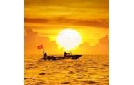 Sunrise on Spratly Islands