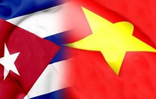 Cuban President praises exemplary relations with Vietnam