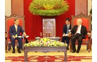 Vietnam considers Japan a leading, long-term partner: top leader