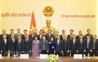 Top legislator hosts Ambassadors, heads of representative offices abroad