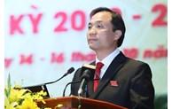 Ha Tinh has newly-elected Secretary