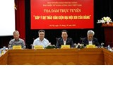 Online talk to collect opinions to draft documents to the 13th National Party Congress