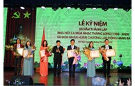 Thang Long Theater celebrates its 60th founding anniversary
