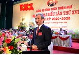 Comrade Le Truong Luu holds the position of Secretary of Thua Thien Hue Provincial Party Committee