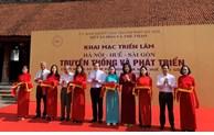 "Exhibition on ""Hanoi - Hue - Saigon: Tradition and Development"""