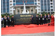 Many works inaugurated to welcome Cao Bang Provincial Party Congress