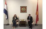 Ambassador Pham Viet Anh receives Editor-in-Chief of Diplomat Magazine