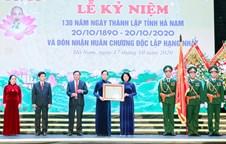 Ha Nam Province marks 130th founding anniversary