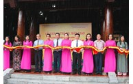 Inauguration of four investment categories at Kim Lien relic site