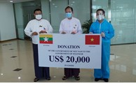Vietnam sends medical supplies to Myanmar
