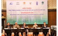 Sustainable management of Viet Nam's biosphere reserves in the future