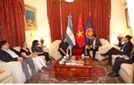 Vietnam, Argentina bolster cooperation
