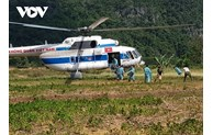 Helicopters to provide food to 3,000 people in cut-off areas in Central Vietnam