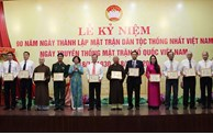 VFF Central Committee presents medals to 142 outstanding individuals in Da Nang