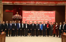 VND91 billion from capital city to natural disasters-affected provinces