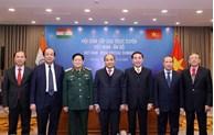 Vietnamese, Indian PMs co-chair virtual summit