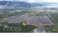 Solar power plant inaugurated in Khanh Hoa