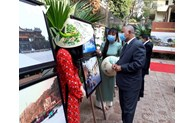 Photos on Vietnamese land and people displayed in Egypt