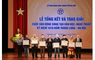 Winners of painting contest in celebration of 1010th anniversary of Thang Long – Hanoi honoured