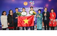Vietnamese students win eight medals at IOM
