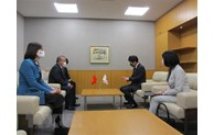 Governor of Japan's Gunma Prefecture applauds Vietnam's success in COVID-19 control