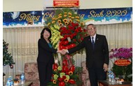 Vice President visits Evangelical Church of Vietnam (South)