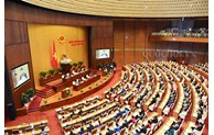 Photo exhibition on National Assembly opened in Ho Chi Minh City