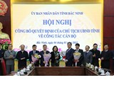 Mr. Nguyen Nhan Chinh appointed as Director of Bac Ninh province's Department of Labour, Invalids and Social Affairs