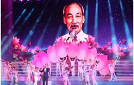 Art performance in HCM city marks Party's founding anniversary