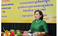 Cambodia presents Royal Medal to officials of the State Bank of Vietnam