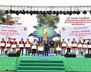 Vietnam's most outstanding athletes in 2020 honoured