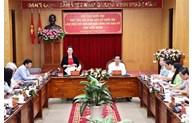 Top legislator works with Kien Giang on election preparations